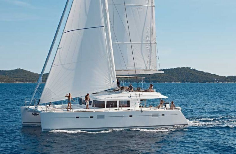 Lagoon 560 for charter in Kastela, Split