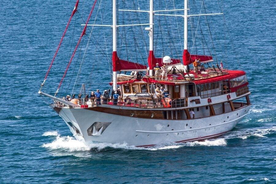 Motor-sailer Barbara for charter in Split
